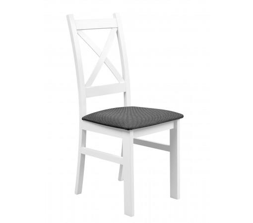 Krzesło tapicerowane krzyżak do kuchni i jadalni