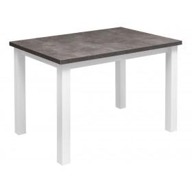 Solidny stabilny stół kuchenny do kuchni jadalni 120x80 beton