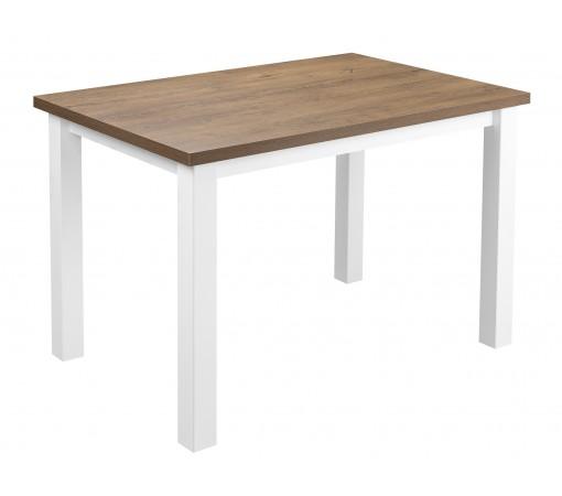 Solidny stabilny stół kuchenny do kuchni jadalni 120x80 dąb lefkas