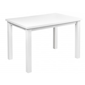 Solidny stabilny stół kuchenny do kuchni jadalni 120x80 biały