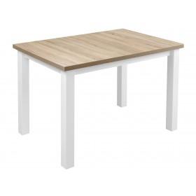 Solidny stabilny stół kuchenny do kuchni jadalni 120x80 dąb sonoma