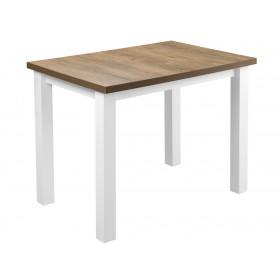 Solidny stabilny stół kuchenny do kuchni jadalni 100x70 dąb lefkas