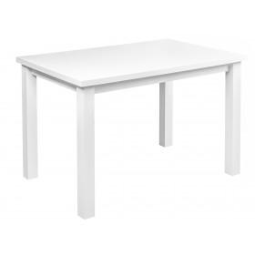 Solidny stabilny stół kuchenny do kuchni jadalni 100x70 biały