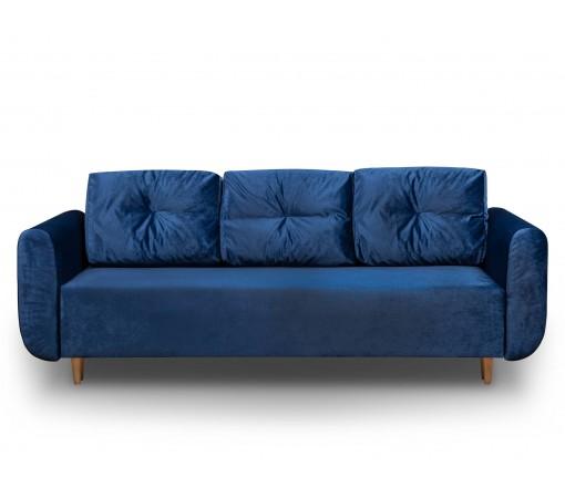 Sofa rozkładana z funkcją spania Sewilla Kronos Granatowa