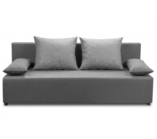 Tania sofa kanapa rozkładana z funkcją spania z poduszkami dwuosobowa