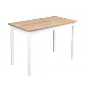 Solidny stabilny stół kuchenny do kuchni jadalni 110x60 dąb grandson