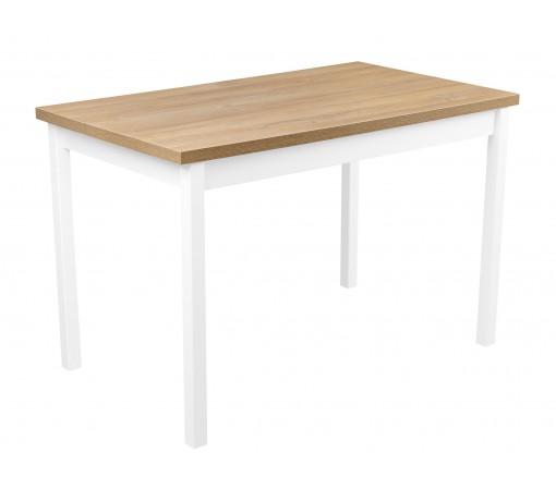 Solidny stabilny stół kuchenny do kuchni jadalni 120x70 dąb grandson