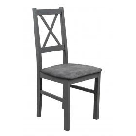 Krzesło Drewniane do Kuchni Jadalni - Szary