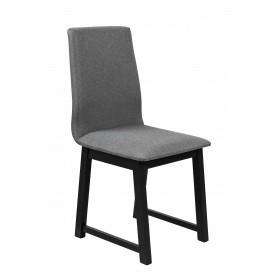 Krzesło Tapicerowane Loft do Salonu - Szary
