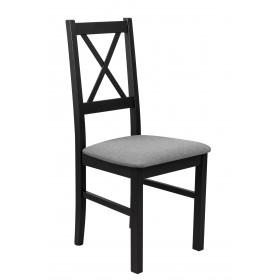 Krzesło Drewniane z Tapicerowanym Siedziskiem LOFT