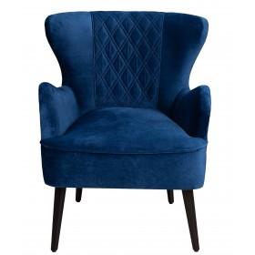Fotel Skandynawski do Salonu Royal - Granatowy
