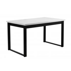 Stół LOFT Rozkładany Czarne Nogi 180/140x80