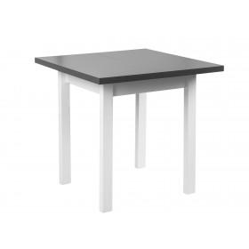 Stół Rozkładany Białe Nogi 110/80x80