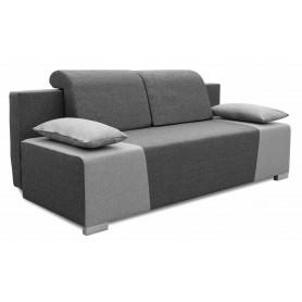 Sofa Rozkładana z funkcją spania Kordoba Grafitowo Szara do salonu do sypialni