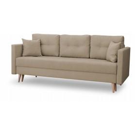 Rozkładana Sofa Skandynawska z poduszkami do pokoju salonu sypialni
