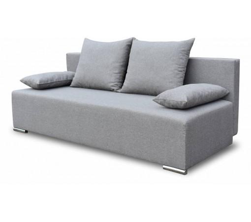 Szara Sofa Rozkładana Style z funkcją spania