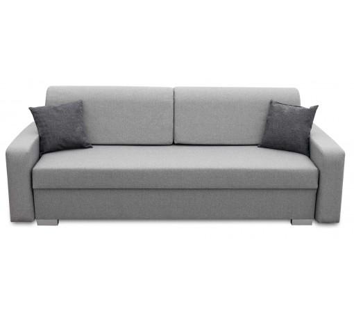 Szara sofa Vigo w stylu industrialnym loft na sprężynach bonell wygodna masywna trwała