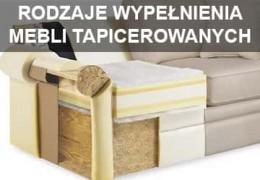 Rodzaje wypełnienia sofy i mebli tapicerowanych